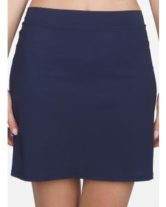 SHAN CLASSIQUE SWIM SKIRT COVERUP IN IN CURACAO BLUE *FINAL SALE