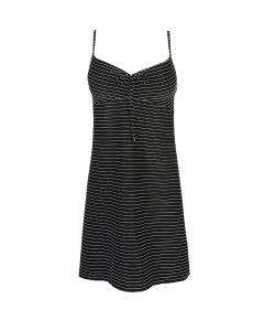 MARIE JO SHERRY SWIM DRESS IN SMOKING BLACK