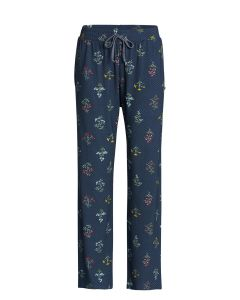 Pip Studio Babbet Pajama Pant In Dark Blue