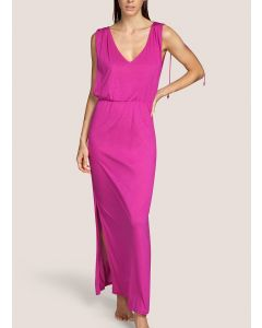 ANDRES SARDA BIBA SWIM MAXI DRESS IN BOLLYWOOD PINK