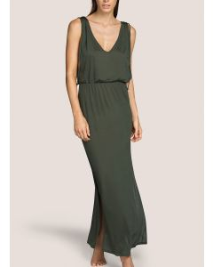 ANDRES SARDA BIBA SWIM MAXI DRESS IN PARADISE GREEN