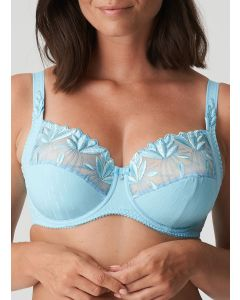 PRIMADONNA ORLANDO SIDE SLING WIRE BRA IN JELLY BLUE (F-H CUPS)