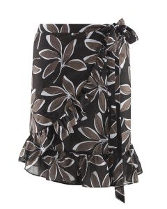AUBADE POESIE EXOTIQUE SWIM PAREO SKIRT IN HAWAII BLACK