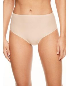 CHANTELLE SOFT STRETCH RETRO THONG IN NUDE