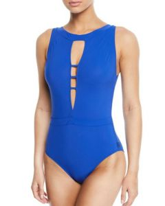 SHAN CLASSIQUE SWIM ONE PIECE IN ROYAL BLUE