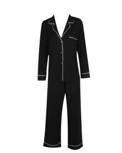 EBERJEY GISELE PAJAMA SET IN BLACK