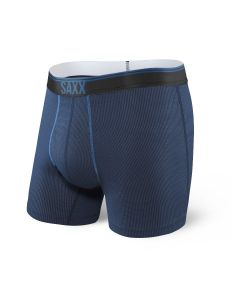 SAXX QUEST 2.0 BOXER BRIEF FLY IN MIDNIGHT BLUE