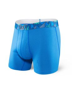 SAXX QUEST 2.0 BOXER BRIEF FLY IN PURE BLUE