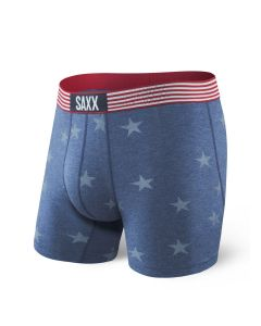 SAXX VIBE BOXER BRIEF IN CHAMBRAY AMERICANA