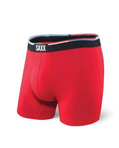 SAXX VIBE BOXER BRIEF IN RED