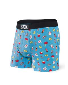 SAXX ULTRA FREE AGENT LOOSE FIT BOXER FLY IN BLUE SOY