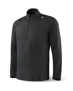 SAXX THERMO-FLYTE HALF-ZIP LS TOP IN BLACK