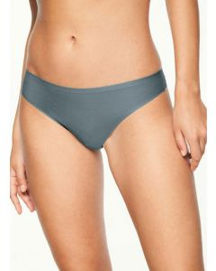 CHANTELLE SOFT STRETCH THONG IN ABYSSE