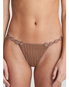 MARIE JO DAISY (AVERO) DAISY STRING THONG IN BRONZE
