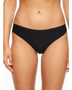 CHANTELLE SOFT STRETCH THONG IN BLACK