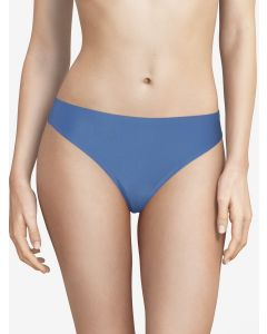 CHANTELLE SOFT STRETCH THONG IN BLUE KLEIN