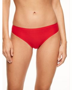 CHANTELLE SOFT STRETCH THONG IN POPPY