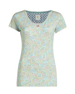 PIP STUDIO TOY S/S PAJAMA TOP IN BELDI BLUE