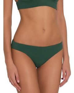 EBERJEY PIQUE SWIM BOTTOM IN PALM *FINAL SALE