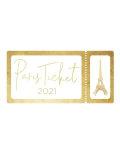 PARIS 2021 TICKET