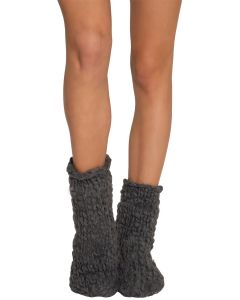 EBERJEY THE SCOUT SLIPPER SOCK IN FLANNEL GREY
