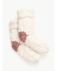 EBERJEY THE SCOUT SLIPPER SOCK IN SAND