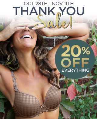 20% Off Everything October 28th - November 11th
