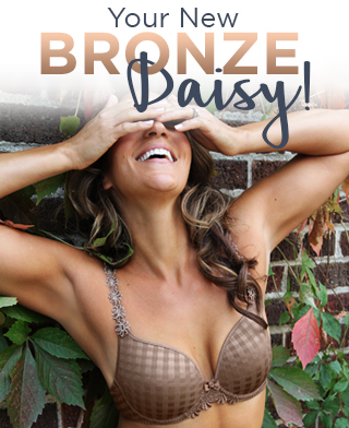 Daisy Bra in Bronze