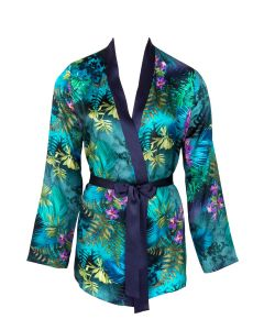 LISE CHARMEL FORET LUMIERE SHORT ROBE IN BLUE