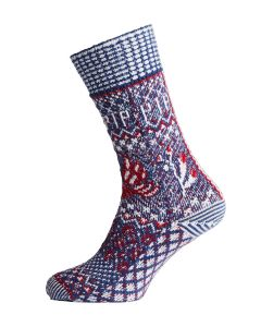 PIP STUDIO ANNA SLIPPER SOCK IN BLUE